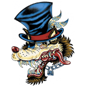 """Featured image for """"General Graphics – Uncle Sam Wolf"""""""